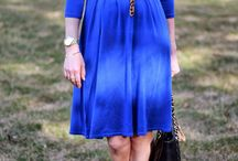 Fashionably Blue...