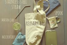 Zero Waste Lifestyle / Environmental living tips, zero waste home ideas, plastic-free alternatives, natural cleaning