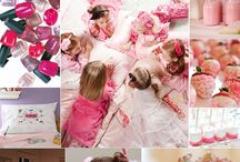 Fun Sleepover Ideas / by Melanie Mills Mann