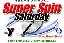 Super Spin Saturday / YMCA fundraiser, partnering with United Hearts for Health, to raise funds for wellness programs for FDL Area Youth through Y initiatives like Y5210 and Just Play.