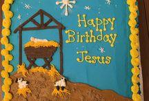 Baby Jesus Cake