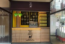 Кофейня Black Mops / 3d визуализации новой кофейни в Киеве, Дизайн кофейни