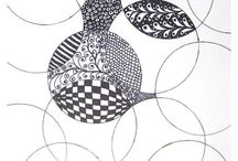 Zentangle & stamps