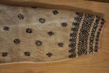Sweden- Gagnef, in Dalarna / Folkdräkt och folkliga textilier från Gagnefs socken, i Dalarna. Traditional clothing and textiles from Gagnef, in the Swedish province Dalecarlia.