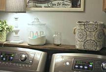 House laundry room
