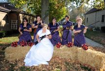 My next party theme: dress as a gang of bridemaids.