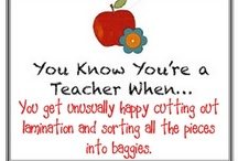 you know you are a teacher when