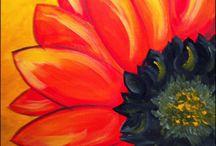 schilderles olie/acryl/aquarel