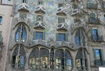 Spain - Barcelona / There are so many things to do in Barcelona that it is hard to fit it all in on one trip. That's why I need to go back - still more Gaudi to see and tapas to eat