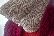 Knitting and crocheing