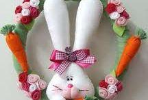 Easter- applique/felt/patch... / by Lilian Pintchovski Rodrigues