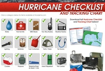 Hurricane Checklist / Be prepared for Mother Nature. / by Academy Sports + Outdoors