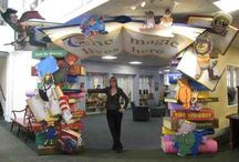 Library Themed Spaces
