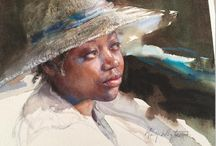 Aquarelle :: Mary Whyte