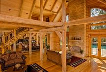 Great Rooms | Strongwood Log & Timber Homes