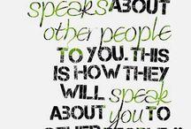 Sayings :)