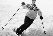 Women om skis