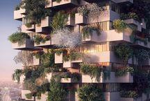 Устали жить в мегаполисе? Есть решение! Смарт-квартира с деревом и кустами на балконе
