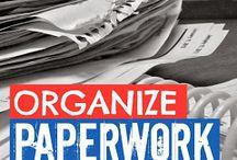 Organising. ..