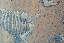 bones/flowers