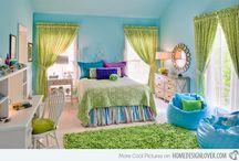 Uusi makuuhuone / Inspistä uuden makkarin sisustukseen