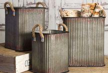 Corrugated items