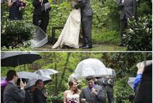 Ślub w plenerze - alternatywy na deszcz