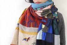 scarfs / scarfs, shawls