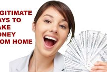Legitimate Ways to Make Money From Home
