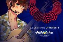 Hetalia AU: Eurovision