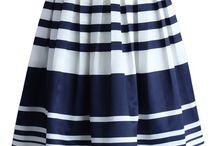faldas tipo A