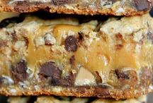 Food: Cookies and bars / Dessert recipes for cookies, brownies and such