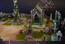 Halloween Village & Miniature Work