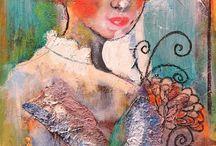 Créateurs à découvrir > Peinture et illustration / Mes coups de coeurs peinture, illustrations... toutes techniques confondues.