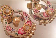 Meenakari designs