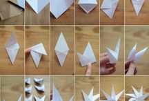 stelle origami natale