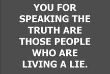 TRUTH AND LIES...