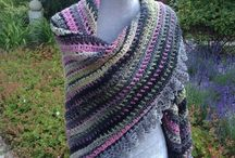 Crochet Shawl - Horgolt Kendő