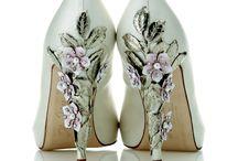 туфли с вышивкой