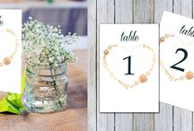 Templates / Printable wedding items