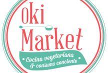 Oki Market / Restaurante Vegano.