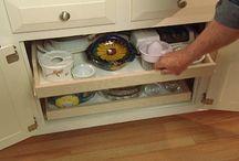 kitchen storage drawers