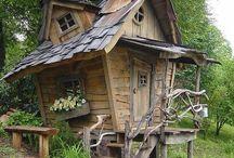 Garten Hütten Aufbewahrung