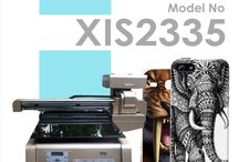 XIS 2335 D / UV Flatbed Printer With Dual Head