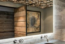 Bath and kitchen