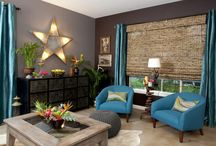 Bring your Living Room to Life / Add some life to your living room with pops of color and bold decor. Play with your color palettes and have some fun with it!