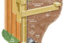 Yard - Retaining walls