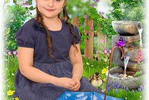 шаблоны для детей / шаблоны для монтажа фотографий в фотошопе