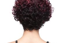 Back of curly bobs