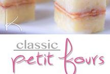 How to make petit-fours